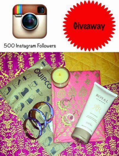 Winner of 500 Followers Instagram Giveaway image