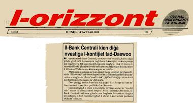 28 - John Dalli and the Daewoo Scandal