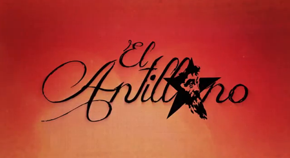 Title screen from the documentary The Antillean. Image taken from the video.