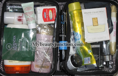 Thirty One Cosmetics poppy quilted bag review