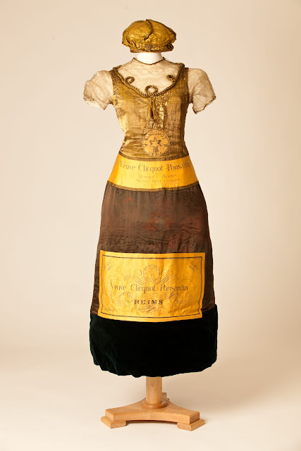 Champagne bottle dress worn by an unknown lady at a fancy dress party in  1902  Courtesy Fashion Museum  50 Fabulous Frocks at the Fashion Museum in Bath  UK   HuffPost. Bath Fashion Museum Gift Shop. Home Design Ideas