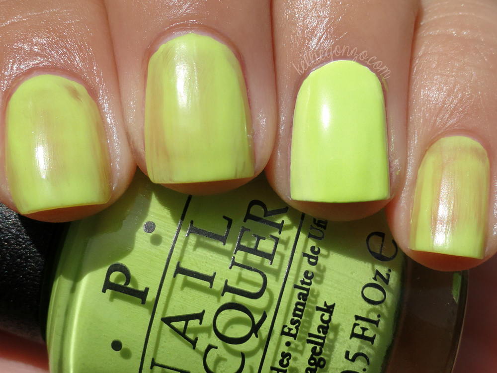 OPI - Life Gave Me Lemons one coat
