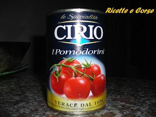Piadina con Pomodorini Cirio, Tonno e Mozzarella