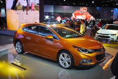 4 New Chevy Cars on Display at NAIAS 2016