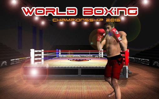 Screenshots of the Real boxing champions World boxing championship 2015 for Android tablet, phone.