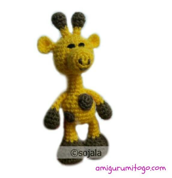 Easy Amigurumi Giraffe : Little Bigfoot Giraffe Free Crochet Pattern ~ Amigurumi To Go