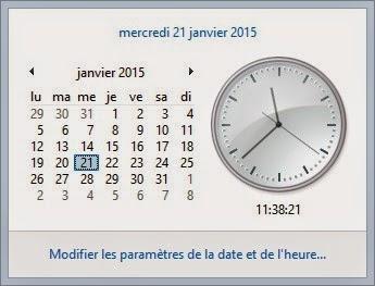 Infos technos informatique vid os hifi photos migration de orange a free mon exp rience - Horloge bureau windows 8 ...