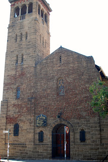 Front view of St Boniface Anglican church