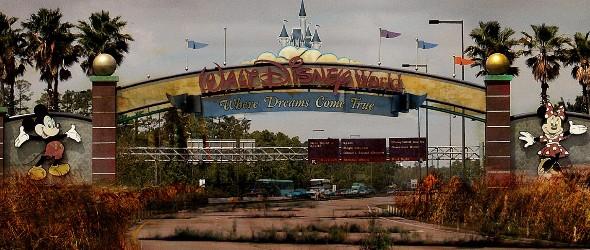 Insolite : Découvrez Walt Disney World Resort après une apocalypse
