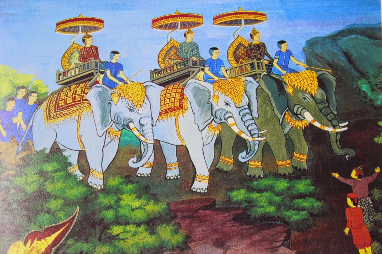 Reyes magos tailandeses