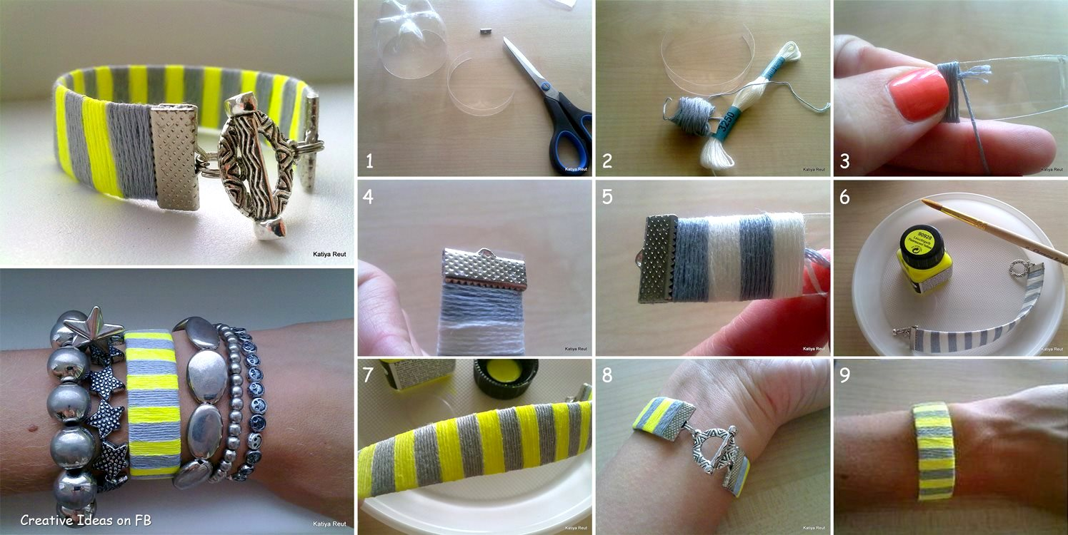 Craft Bracelets Pinterest
