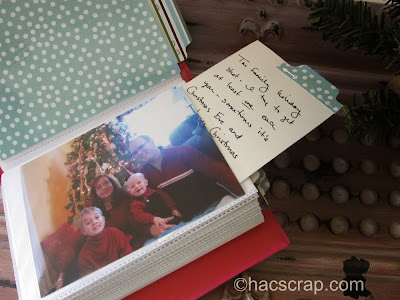 DIY Holiday Memory Album