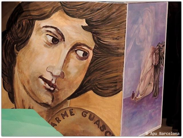 VeoDigital APU Barcelona: Homenaje a Carme Guasch i Darné. Arte y Recital Poético