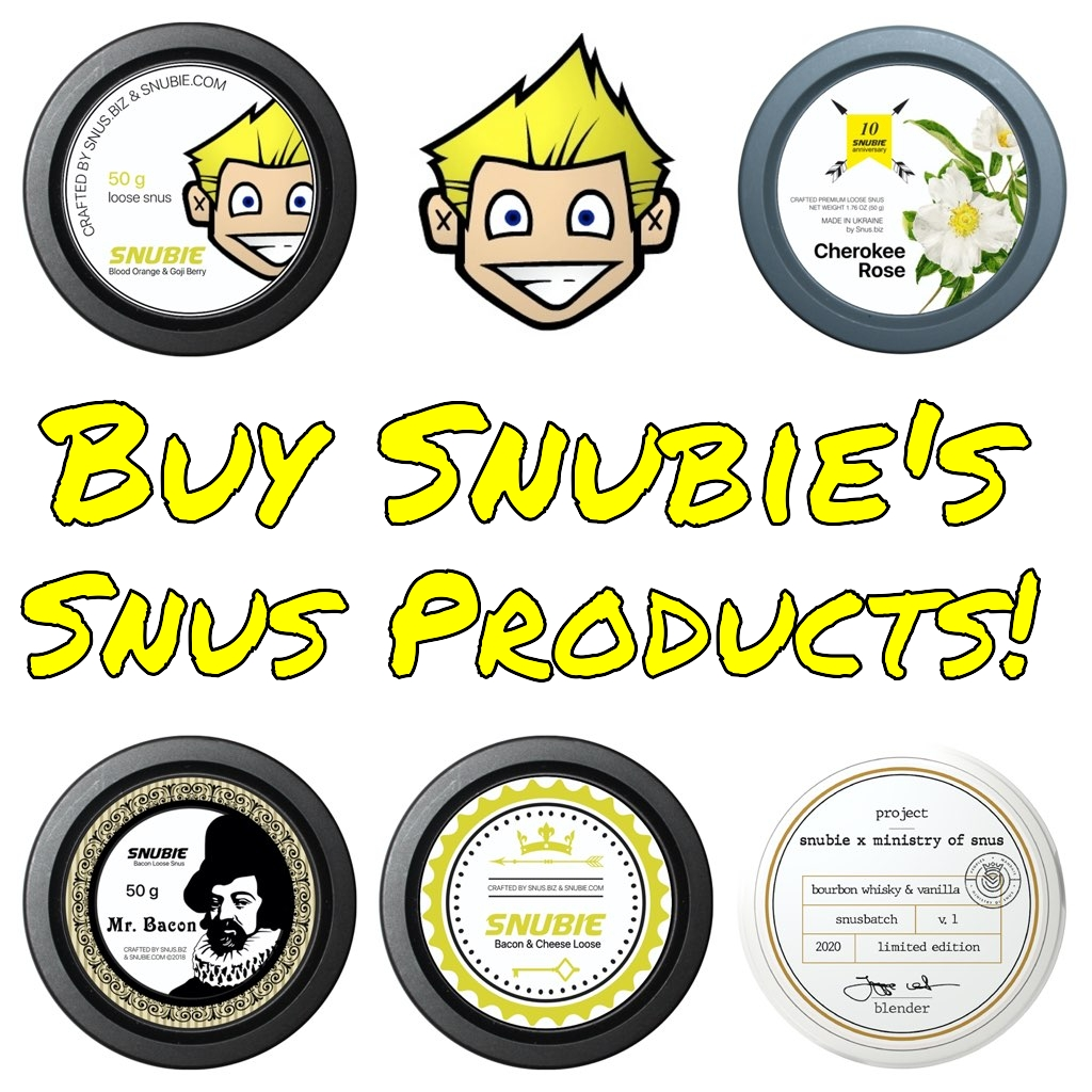 Buy Snubie's Snus Products!
