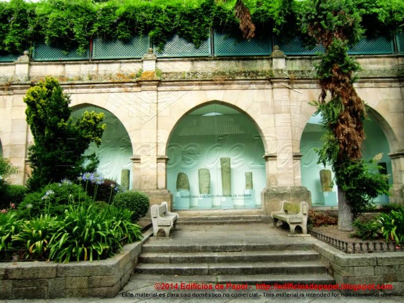 Proyecto entrada Palacio episcopal 1910 Vázquez Gulías