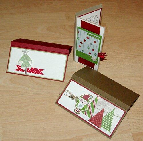 kw eselsohr weihnachtliche schoki karten i. Black Bedroom Furniture Sets. Home Design Ideas