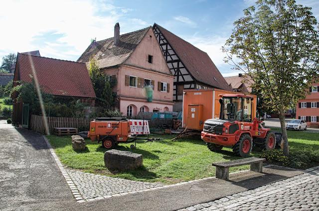 Baustelle Sanierung, Ehemals Wohnung des Scharfrichters, Muckenbrünnlein 11, 91550 Dinkelsbühl