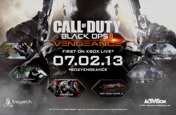 Call Of Duty : Black Ops 2 Vengeance DLC