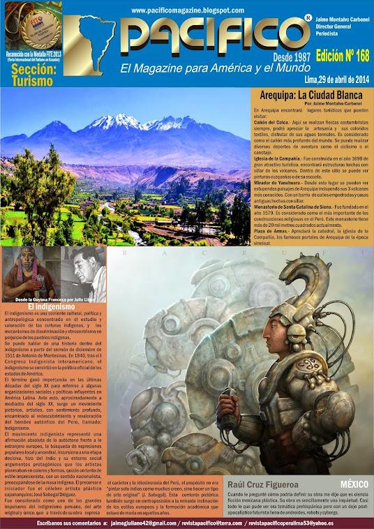 Revista Pacífico Nº 168 Turismo