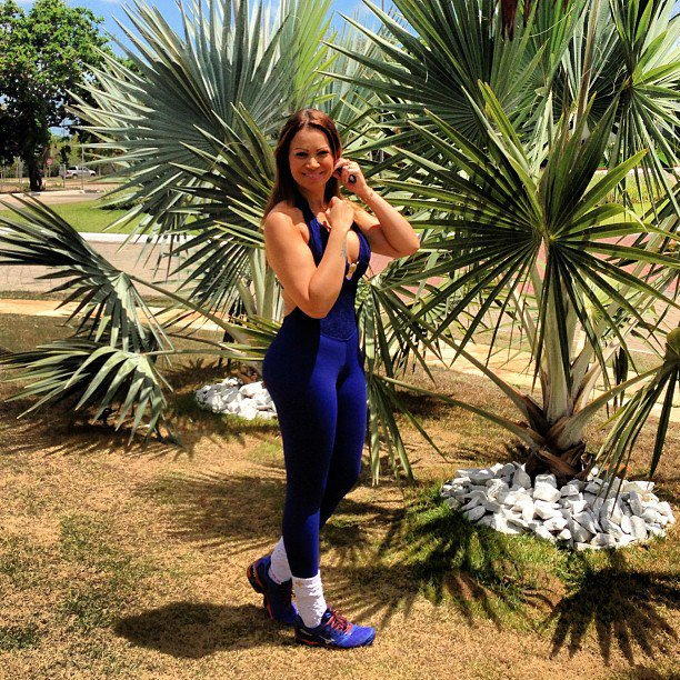 """Há cinco anos, Solange Gomes decidiu emagrecer para """"viver bem e ser feliz"""". Foto: Reprodução"""