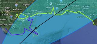 Tropischer Sturm KAREN, 2013, aktuell, Atlantische Hurrikansaison 2013, Cancún, Golf von Mexiko, Karen, Mexiko, Oktober, Playa del Carmen, Riviera Maya, Satellitenbild Satellitenbilder, Vorhersage Forecast Prognose, Yucatán,