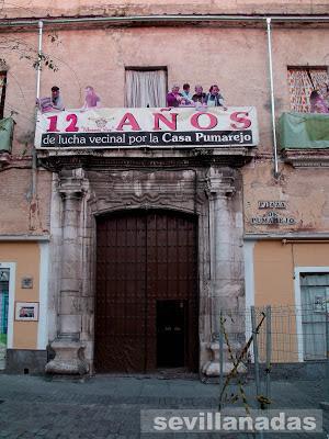 Portada del Palacio del Pumarejo