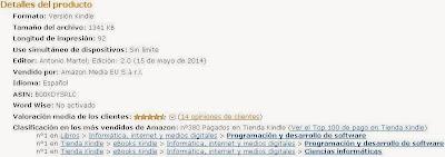 Libro Gestión práctica de proyectos con Scrum de Antonio Martel bestseller en Amazon
