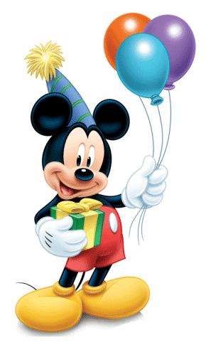 Mickey de cumpleaños