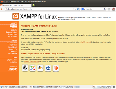 how to run a php file using xampp