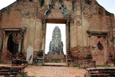 Wat Ratchaburana - Ayutthaya - Tailândia