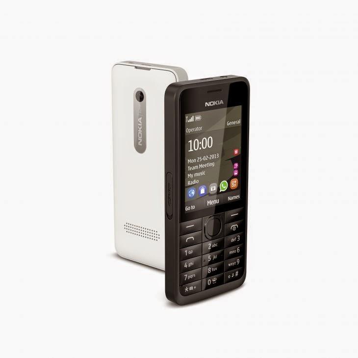 Harga dan Spesifikasi Hp Nokia 301 Dual Sim Gsm 2014