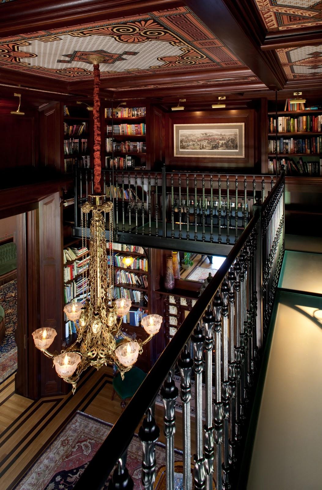 Artistic License News McDonald Mansion The formal interiors at