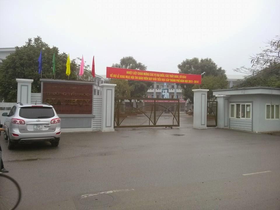 Trường tiểu học đối diện tòa HHB chung cư Hồ Sen Long Biên