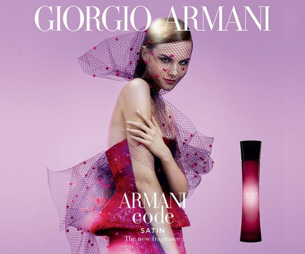 Armani Code Satin de Giorgio Armani nuevo perfume para mujer