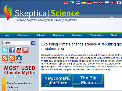 The Skeptical Science website