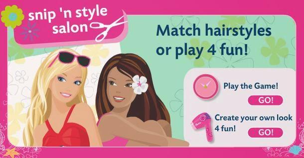 Permainan Barbie Salon