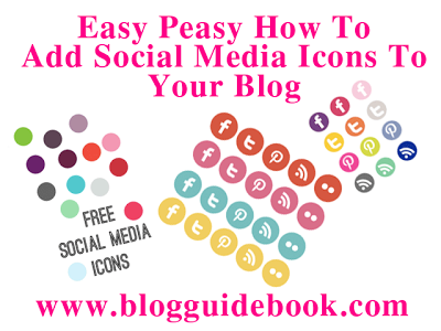 Easy tutorial on social media buttons + free hosting