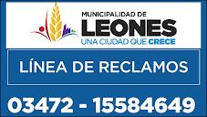 PARA RECLAMOS MUNICIPALIDAD DE LEONES