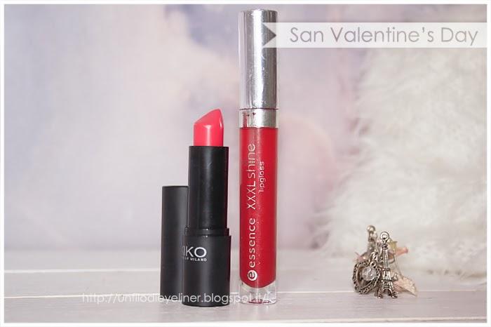 idea make up san valentino 904 kiko red blossom essence