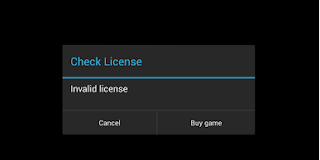 Invalid License Gameloft Game