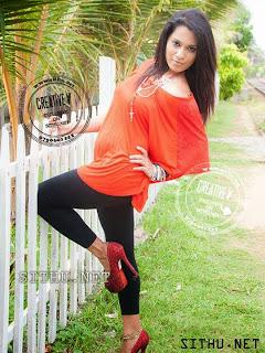 Nadeeshani Nilukshi hot black