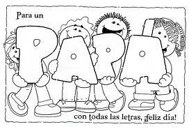 """Más dibujos  para el """"Día del Padre"""""""