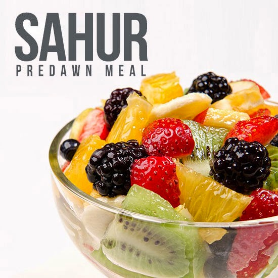 Sahūr (Predawn Meal) is a Blessing
