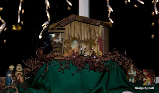 Christmas Nativity display