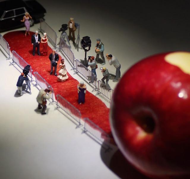 Artista cria projeto para elaborar cenas do cotidiano com objetos em miniatura