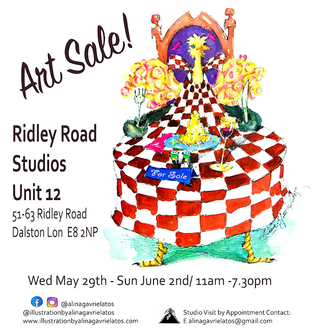 Art Sale in Artist Studio