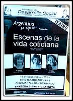 """""""Escenas de la vida cotidiana"""" en el Cine Teatro Arenas"""