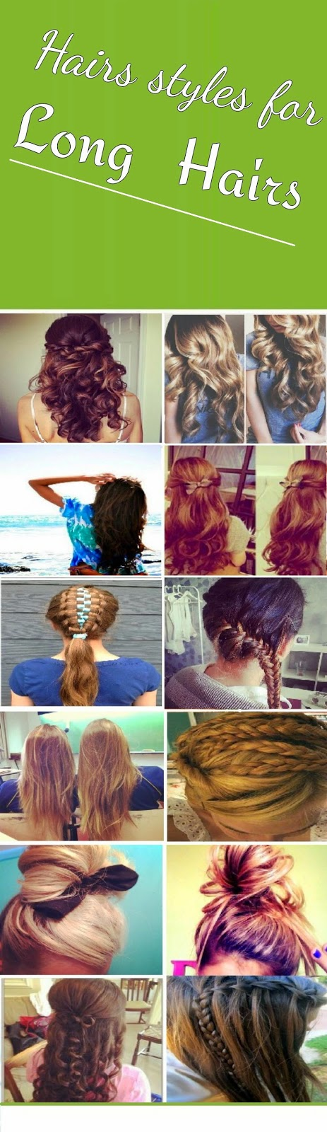 Hair styles for long hairs
