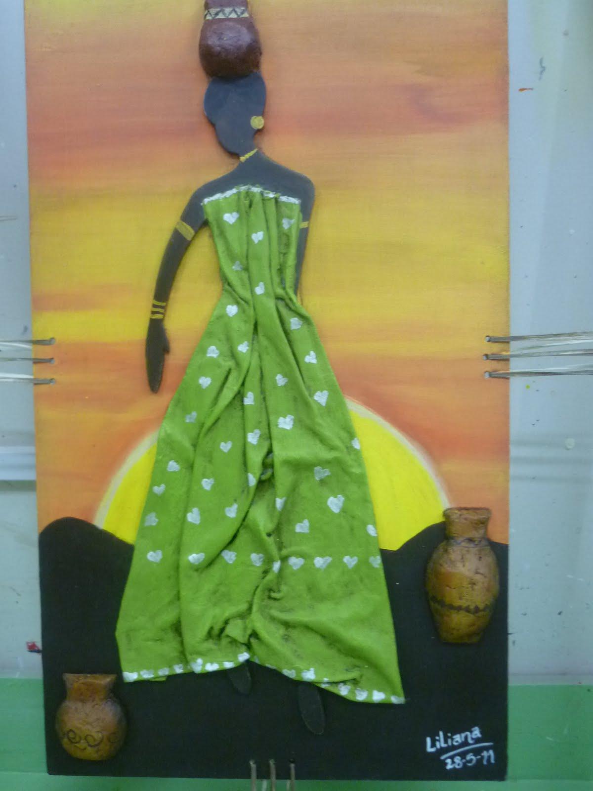 CREACIONES DE SILVIA: Negrita de Liliana L.
