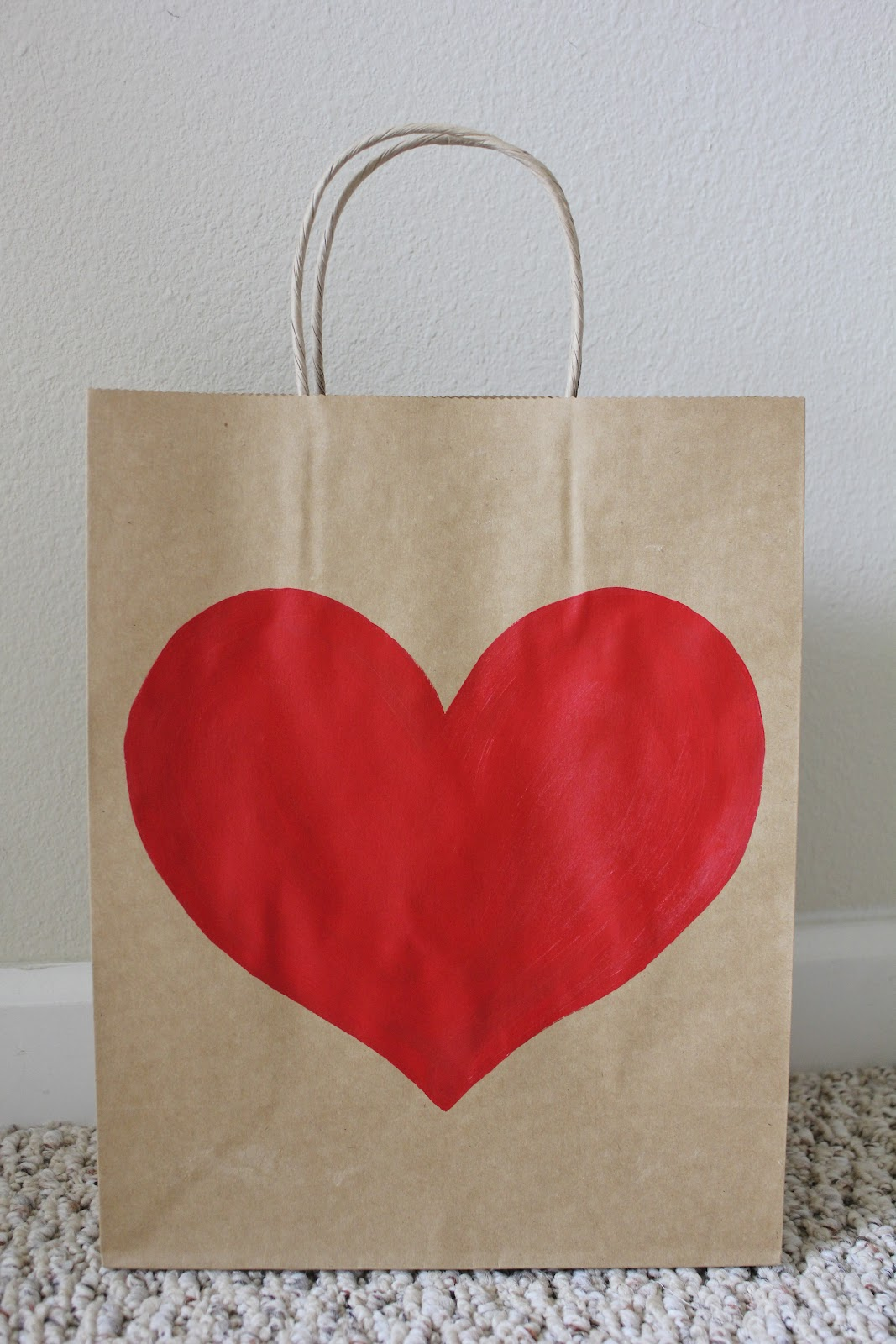 Life Made Simple Tutorial Heart Gift Bag
